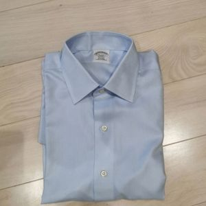 New Brooks brothers cotton non iron dress shirt